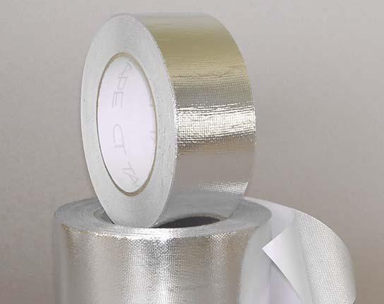 Ct ffc 0711 cinta de fibra de vidrio con papel aluminio - Aislamiento de fibra de vidrio ...