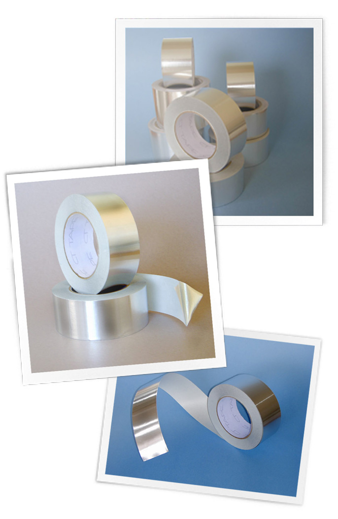 Adhesive Tape Foil Tape Aluminum Foil Tape Aluminium
